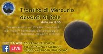 Transito di Mercurio - Diretta Web